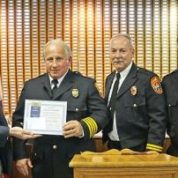 Honoring Firemen