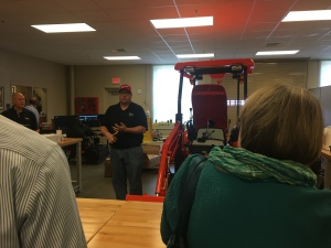 John Lee discusses Train the Trainer opportunities at TCAT Elizabethton, an NC3 Certification Center.